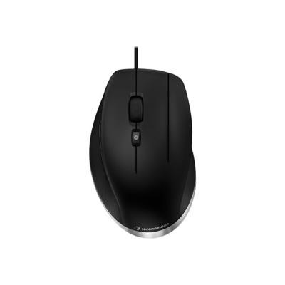 Vous n´aurez plus à cliquer sur la molette grâce au bouton central dédié de la souris 3Dconnexion CadMouse. Il est tout simplement plus confortable et pratique que la molette. Puisque la spécialité est d´améliorer le travail et l´agrément d´utilisation de