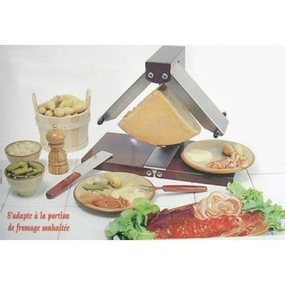 Bron coucke raclette traditionnelle brzire quart fromage for Cuisson conviviale