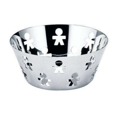 Image du produit ALESSI SPA - Corbeille Girotondo noir design King Kong (20 cm)