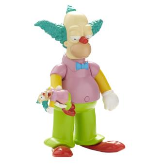 The simpsons krusty le clown figurine parlant anglais 14 cm achat prix fnac - Simpson le clown ...