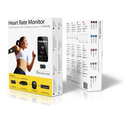 Pack Sport. Moniteur de fréquence cardiaque conçu pour iPhone, iPad et iPod touch, compatible avec toutes les ceintures cardio analogiques et intégré dans plusieurs applications de lApp Store. Pack comprenant : une ceinture pectorale, un récepteur et un b