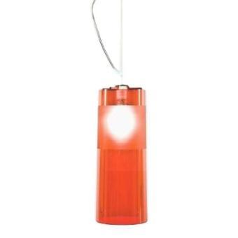 kartell 9010w3 lampe easy rouge transparent achat prix fnac. Black Bedroom Furniture Sets. Home Design Ideas