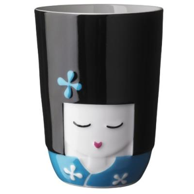 Image du produit qdo kokeshi tasse thermique bleu