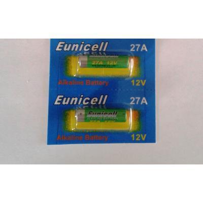 Lot de 2 piles 27A M N27 12 volt EUNICELL