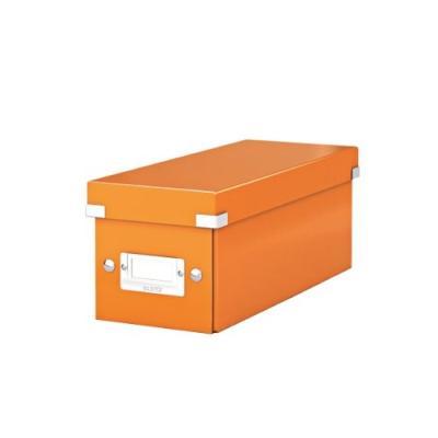 Boîte de rangement pliable pour CD avec porte-étiquette Pliable pour un rangement compact Peut contenir jusquà 30 boîtiers classiques 60 boîtiers fins ou 165 pochettes Surface laminée pour une protection durable Dimensions (Lg x H x P) : 143 x 147 x 352 m