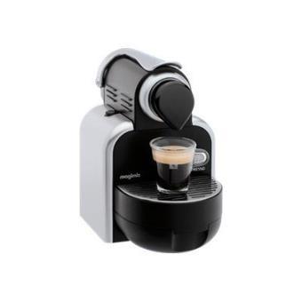 magimix nespresso m100 auto machine caf 19 bar argent e achat prix fnac. Black Bedroom Furniture Sets. Home Design Ideas