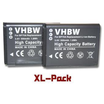 2 batteries 500mah pour appareil photo samsung st151f st152 st152f wb31 wb31f wb32 wb32f. Black Bedroom Furniture Sets. Home Design Ideas