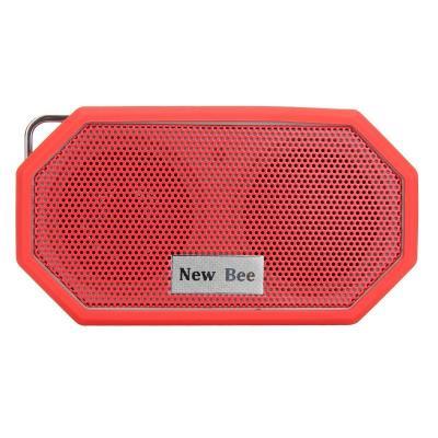 New Bee Haut-parleur Bluetooth, externe &amp: étanche CRS 4.0 Mini haut-parleur pour iPhone 6s plus Samsung S6 edge et Compatible avec tous les appareils Audio New Bee utilise chip CSR Bluetooth stéréo 4.0 réputé pour assurer la qualité sonore de haute fi