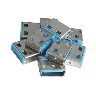 Verrous USB supplémentaires à utiliser avec la clé USB du produit N° Art. 40452 ! Pack de 10 verrous (sans clé) 5 couleurs différentes disponibles: Rouge, Vert, Bleu, Orange, Blanc Chaque clé fonctionne seulement avec un verrou de la même couleur
