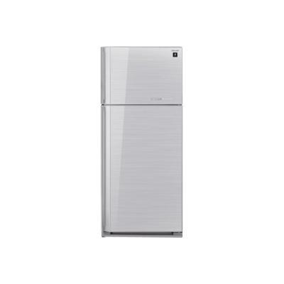 Sharp SJ-GC700VSL - réfrigérateur / congélateur - congélateur haut - pose libre - argenté(e)