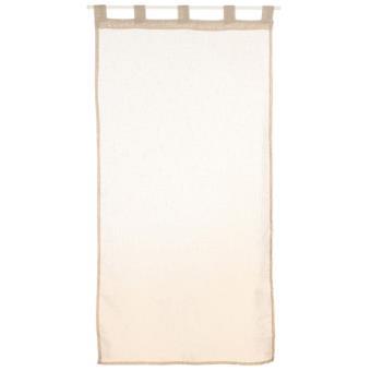 2 voiles pour fen tre 60 x 120 cm lin achat prix for Fenetre 60x120