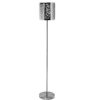 grand lampadaire lampe design 138 cm pied en inox abat jour ajour de m tal achat prix. Black Bedroom Furniture Sets. Home Design Ideas