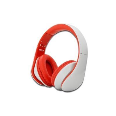 Ednet 83056. Type de casque: Binaural, Couleur: Rouge, Blanc, Style de casque portable: Bandeau. Connectivité: Avec fil. Type dinterface: 3.5 mm (1 8), Longueur de câble: 1 m. Couplage auriculaire: Supraaural, Fréquence des écouteurs: 20 - 20000 Hz, Sensi