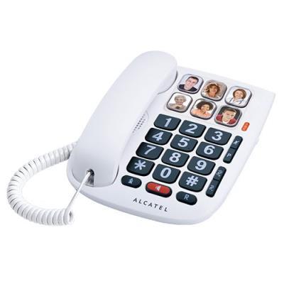Priorité aux fonctions de confort Vous recherchez un téléphone filaire doté de nombreuses fonctions de confort pour vos communications téléphoniques ? Alcatel Tmax 10 est fait pour vous ! - Des fonctions de confort visuel renforcées: 6 touches d´appel dir