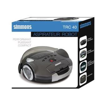 simmons trc40 aspirateur robot achat prix fnac. Black Bedroom Furniture Sets. Home Design Ideas