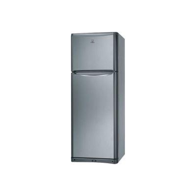 Indesit TAAN 5 V NX - réfrigérateur / congélateur - congélateur haut - pose libre - 70 cm - inox