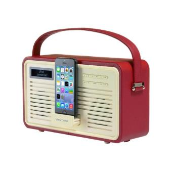 viewquest retro radio radio portative dab avec socle apple dock achat prix fnac. Black Bedroom Furniture Sets. Home Design Ideas