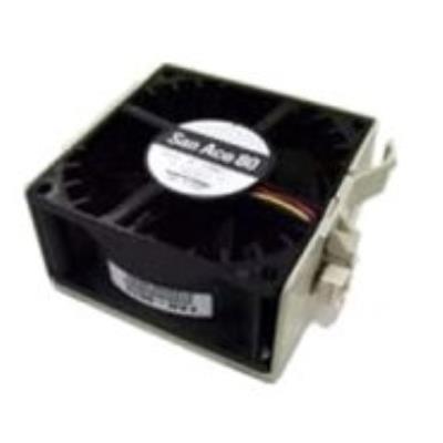 Supermicro FAN-0094L4. Type Ventilateur, convient pour Boitier PC, Niveau de son (vitesse rapide) 51 dB. Couleur Noir, Matériel Plastique. Courant nominal 1,1A, Alimentation dénergie 15,6W. Hauteur 8 cm. Performance du ventilateur 90,3 cfm, Dimensions (Lx