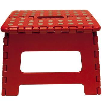 marche pied pliant pliable tabouret rouge achat prix fnac. Black Bedroom Furniture Sets. Home Design Ideas