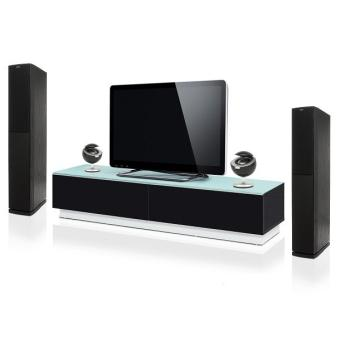 meuble tv bas design pretty noir achat prix fnac. Black Bedroom Furniture Sets. Home Design Ideas