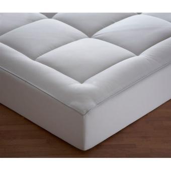 surmatelas microfibre 160x200cm forme drap housse achat prix fnac. Black Bedroom Furniture Sets. Home Design Ideas