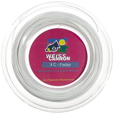Weiss Cannon 133 Ic Factor Ficelle En Copolymère Pour Raquettes De Tennis 200 M X 1,20 Mm pour 63€