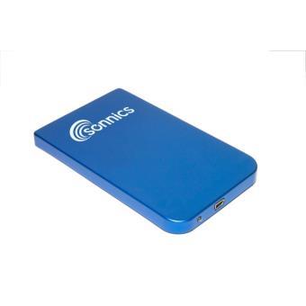 sonnics 250 go bleu disque dur externe portable usb 2 0 pour pc mac ps3 extra fin 2 5. Black Bedroom Furniture Sets. Home Design Ideas