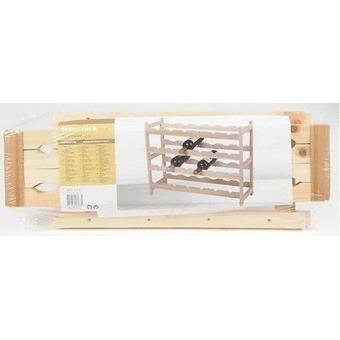 rack etagere porte bouteille casier de rangement pour cave a vin presentoir 2 etages achat. Black Bedroom Furniture Sets. Home Design Ideas