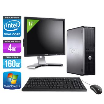 Ordinateur dell optiplex 780 desktop ecran 17 39 gris - Fnac ordinateur de bureau ...