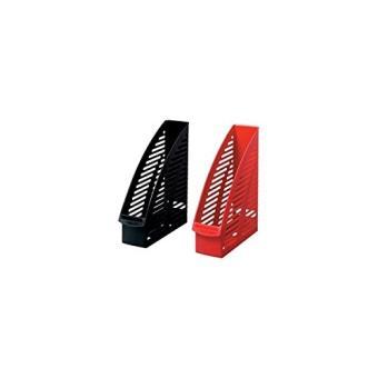 herlitz porte revues format a4 en plastique gris top prix fnac. Black Bedroom Furniture Sets. Home Design Ideas