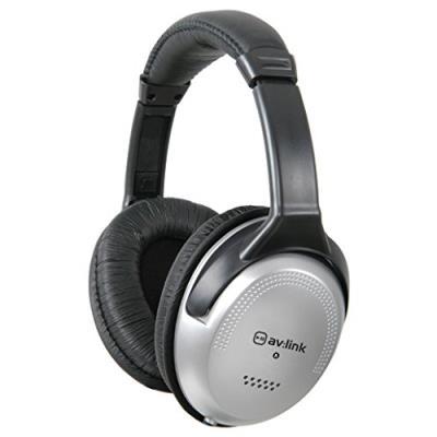 QTX Sound - Casque audio DJ - Ecouteurs Hifi confort et son avec coussins (Jack 3,5 mm, adaptateur 6,3 mm fourni) - Noir et gris