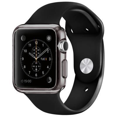 Coque Apple Watch 38mm Clear Frame Extra fine Fumée en TPU transparent protègera votre Apple Watch en toute discrétion. Une protection mélangeant couleur, brillance et transparence, pour ajouter de splendides reflets à votre Apple Watch tout en l abritant