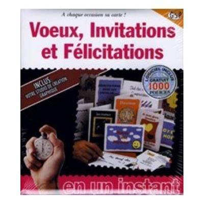 photo Logiciels Voeux - Invitations Félicitations