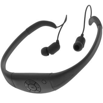 casque casque waterproof 3 mètres lecteur mp3 radio fm piscine sport