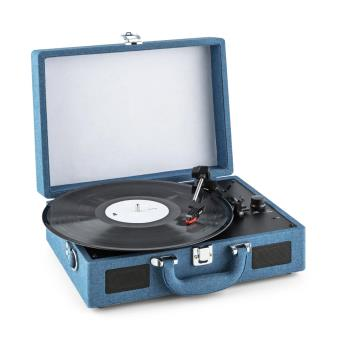 auna peggy sue denim platine tourne disque r tro vinyle lp usb look blue jean achat prix fnac. Black Bedroom Furniture Sets. Home Design Ideas