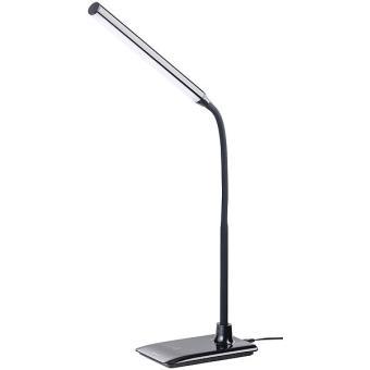 lampe de bureau led avec col de cygne 6 w avec variateur. Black Bedroom Furniture Sets. Home Design Ideas