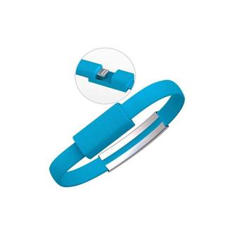 Bracelet chargeur iphone 5 6 ipad ipod bleu achat prix fnac - Chargeur iphone 6 fnac ...