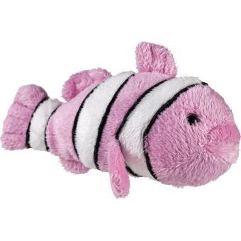 Peluche fille poisson clown rose de petjes world 13cm for Achat poisson clown