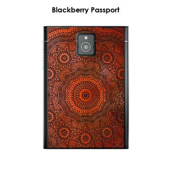 coque blackberry passport design mandala rosace orange noir achat prix fnac. Black Bedroom Furniture Sets. Home Design Ideas