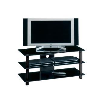 meuble jahnke sr 46 black achat prix fnac. Black Bedroom Furniture Sets. Home Design Ideas