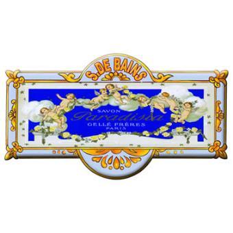 Plaque de porte salle de bain paradisia metal top for Musique salle de bain