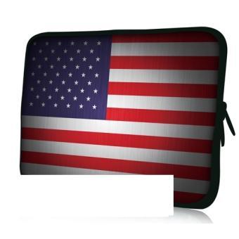 housse ordinateur portable 17 pouces drapeau usa achat. Black Bedroom Furniture Sets. Home Design Ideas