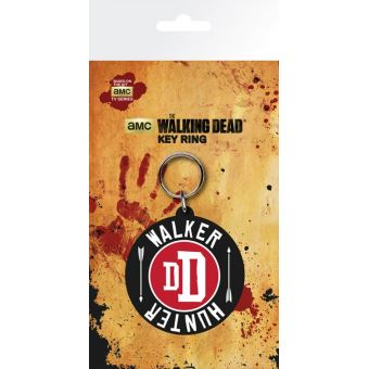 the walking dead porte cl s walker hunter 15x7 cm top prix fnac. Black Bedroom Furniture Sets. Home Design Ideas