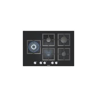 Siemens ep816sb21e table de cuisson au gaz 75 cm noir - Table cuisson gaz siemens ...