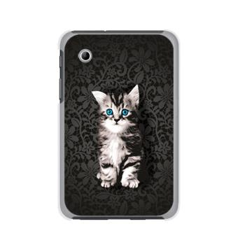 coque chaton pour samsung galaxy tab 2 7 p3100 coq0055 a6 47 achat prix fnac. Black Bedroom Furniture Sets. Home Design Ideas