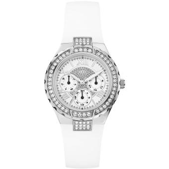 montre guess w0300l1 montre dateur ronde blanche femme achat prix fnac. Black Bedroom Furniture Sets. Home Design Ideas