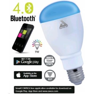 Crée un arc-en-ciel de couleurs. Cette ampoule LED à économie d´énergie est compatible Bluetooth® 4.0 Vous pourrez piloter le réglage de son intensité lumineuse et de ses couleurs depuis votre smartphone ou votre tablette grâce à l´application gratuite Sm