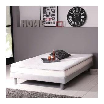 dormipur surmatelas m moire de forme 140x190cm dehoussable achat prix fnac. Black Bedroom Furniture Sets. Home Design Ideas