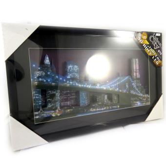 Tableau lumineux 39 nyc bridge 39 3d led achat prix fnac - Tableau lumineux a led ...
