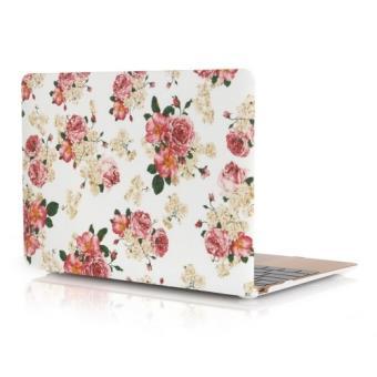 Macbook 12 coque housse plastique fleurs achat prix fnac for Housse macbook 12
